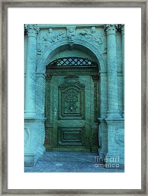 The Door To The Secret Framed Print by Susanne Van Hulst