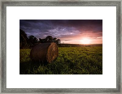 The Downs Framed Print by Ian Hufton