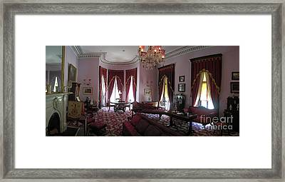 The Drawing Room- Dundurn Castle Framed Print by Larry Simanzik