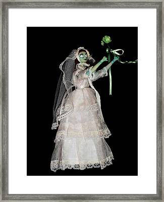 The Dream After Christmas Xii Framed Print by Donatella Muggianu