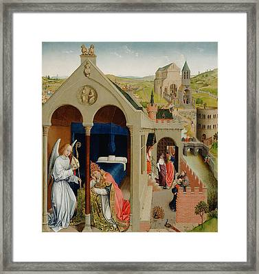 The Dream Of Pope Sergius  Framed Print by Mountain Dreams