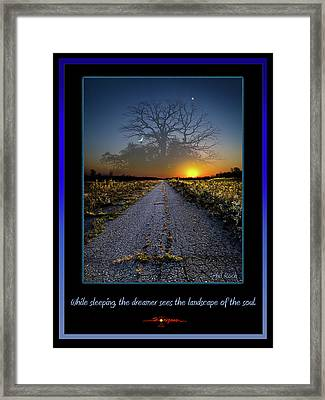 The Dreamer Framed Print by Phil Koch
