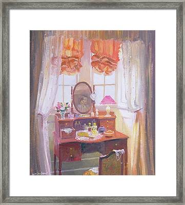 The Dressing Table Framed Print by William Ireland