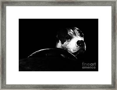 The Driver Framed Print by Erik Brede