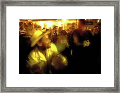 The Drummer Framed Print by Michael Mogensen
