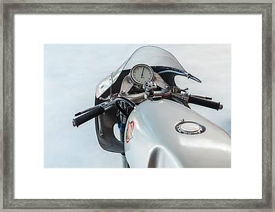 The Ducati Framed Print by Martin Bergsma