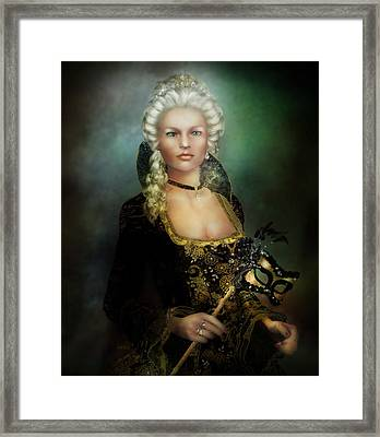 The Duchess Framed Print by Mary Hood