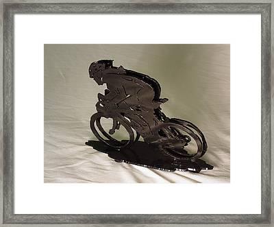 The Duel Framed Print by Steve Mudge