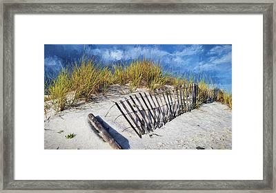 The Dunes Of South Walton Framed Print by JC Findley