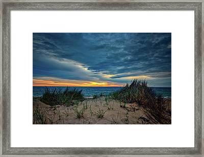 The Dunes On Cape Cod Framed Print by Rick Berk