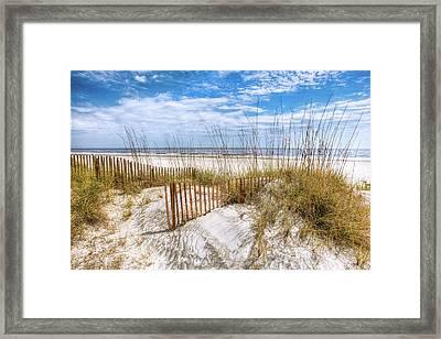 The Dunes Special Framed Print by Debra and Dave Vanderlaan