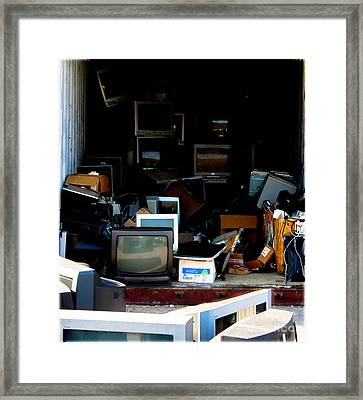 The Dying Art Of Technology  Framed Print by Steven Digman
