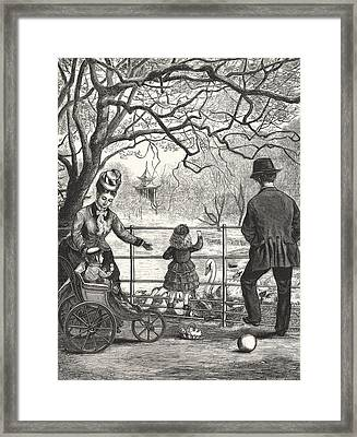 The Easter Holidays Framed Print by Unknown