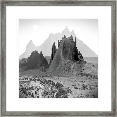 The Edge Framed Print by Mike McGlothlen
