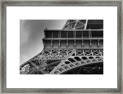 The Eiffel Framed Print by Pejman Mannani