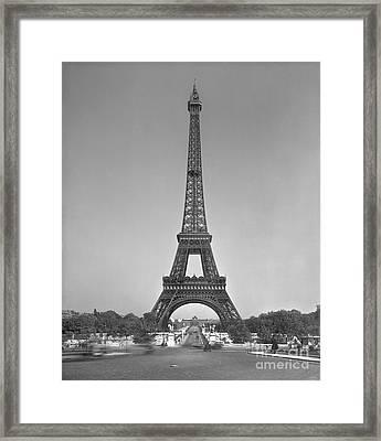 The Eiffel Tower Framed Print by Gustave Eiffel