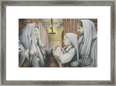 The Eighth Day Framed Print by Rick Ahlvers