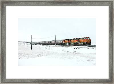 The Eleven Fifteen Framed Print by Todd Klassy