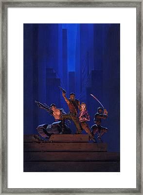 The Eliminators Framed Print by Richard Hescox