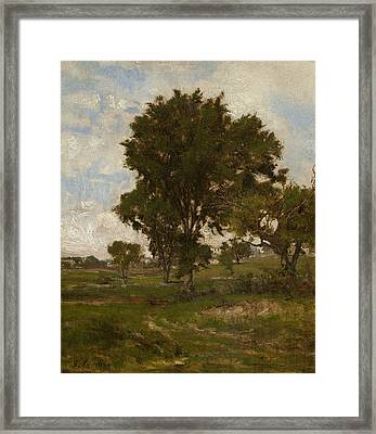The Elm Tree Framed Print by George Inness