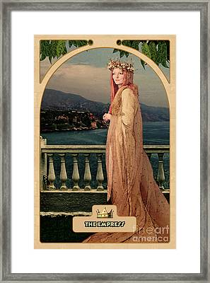 The Empress Framed Print by John Edwards
