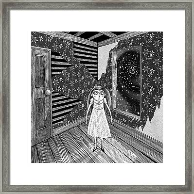 The Empty Room  Framed Print by Andrew Hitchen