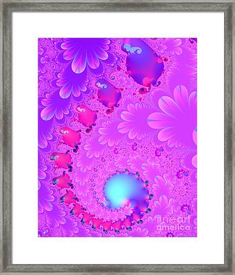 The Enchanted Forest . Version 2 . S8 Framed Print by Wingsdomain Art and Photography
