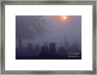 The End Framed Print by Marc Bittan