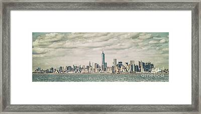 The Endless City Framed Print by Evelina Kremsdorf