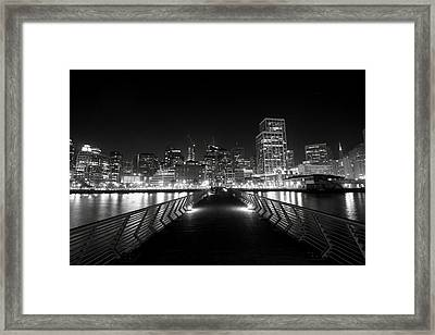 The Energy Framed Print by Laurie Search