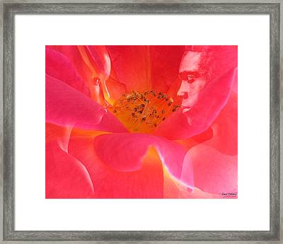 The Energy Of Us Framed Print by Torie Tiffany