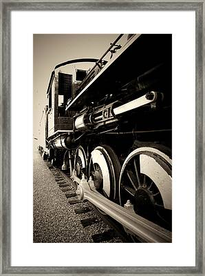 The Engine That Could Framed Print by Aron Kearney