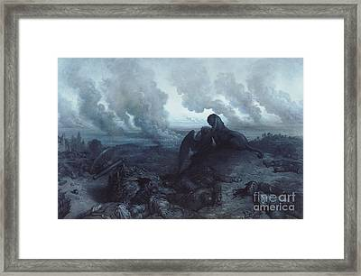 The Enigma Framed Print by Gustave Dore