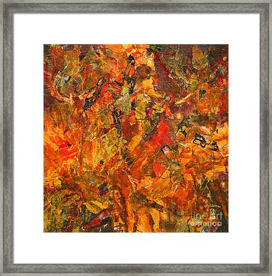 The Enigma Of Indecision Framed Print by Phil Albone