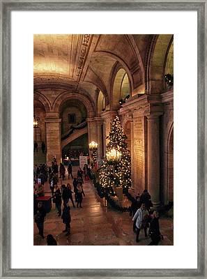 A Golden Entrance Framed Print by Jessica Jenney