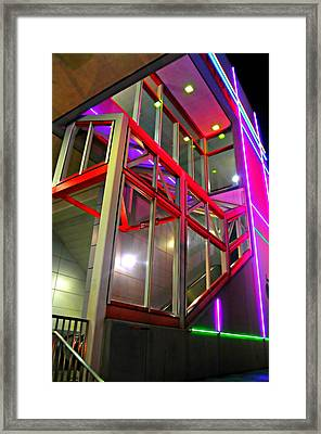 The Escalator Framed Print by Diana Angstadt
