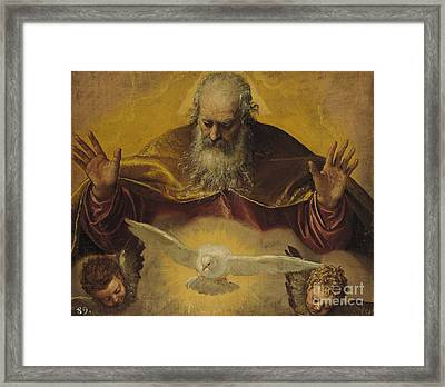 The Eternal Father Framed Print by Paolo Caliari Veronese