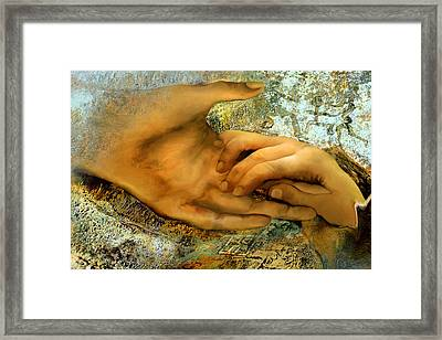The Everlasting Creation Framed Print by Anne Weirich
