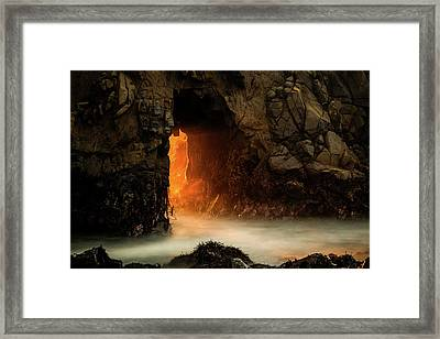 The Exit Framed Print by Edgars Erglis