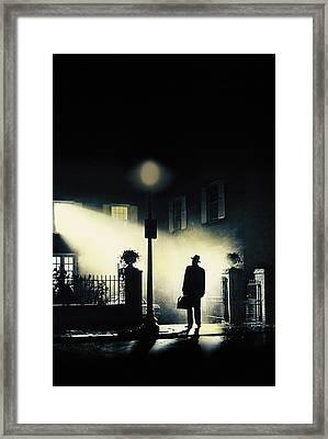 The Exorcist, Poster Art, 1973 Framed Print by Everett