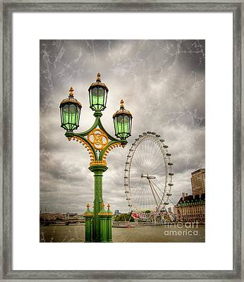 The Eye Is The Lamp Of The Body Framed Print by Donald Davis