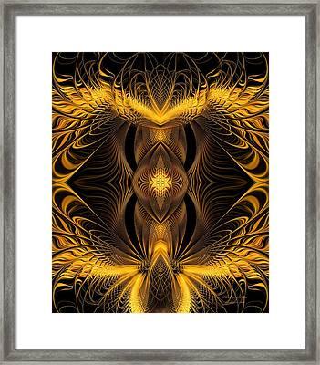 The Eye Of Eden Framed Print by Gayle O