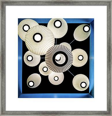 The Eyes Of Architecture Framed Print by Karen Wiles