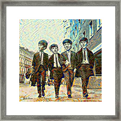 The Fab Four Framed Print by Bill Cannon