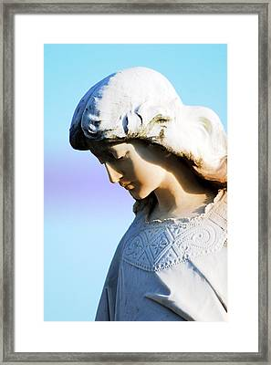 The Face Of An Angel Framed Print by Susanne Van Hulst
