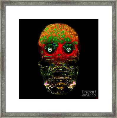 The Face Of Man Framed Print by David Lee Thompson