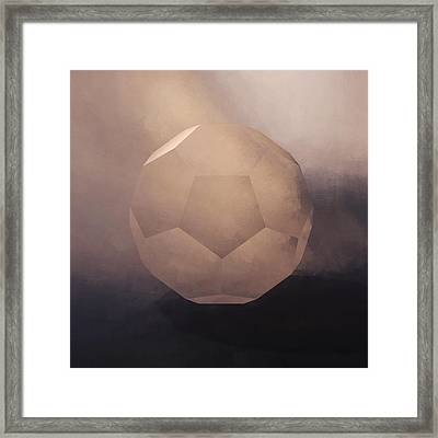 The Facet Framed Print by LC Bailey