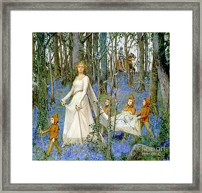 The Fairy Wood Framed Print by Henry Meynell Rheam