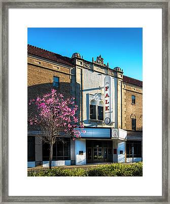 The Falk Theater Framed Print by Marvin Spates