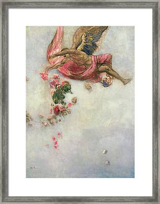The Fall Of Icarus  Framed Print by Odilon Redon